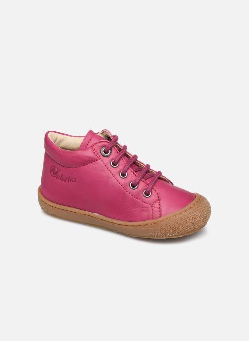 Chaussures à lacets Naturino Cocoon Rose vue détail/paire