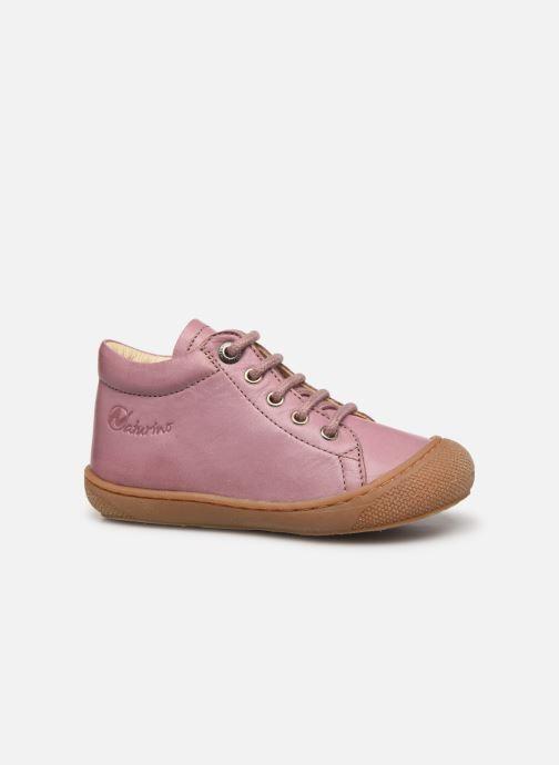 Chaussures à lacets Naturino Cocoon Rose vue derrière