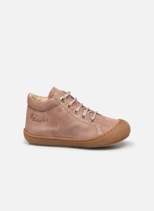 Zapatos con cordones Naturino Cocoon Beige vistra trasera