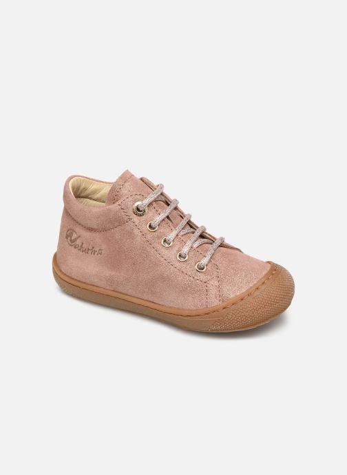 Zapatos con cordones Naturino Cocoon Beige vista de detalle / par