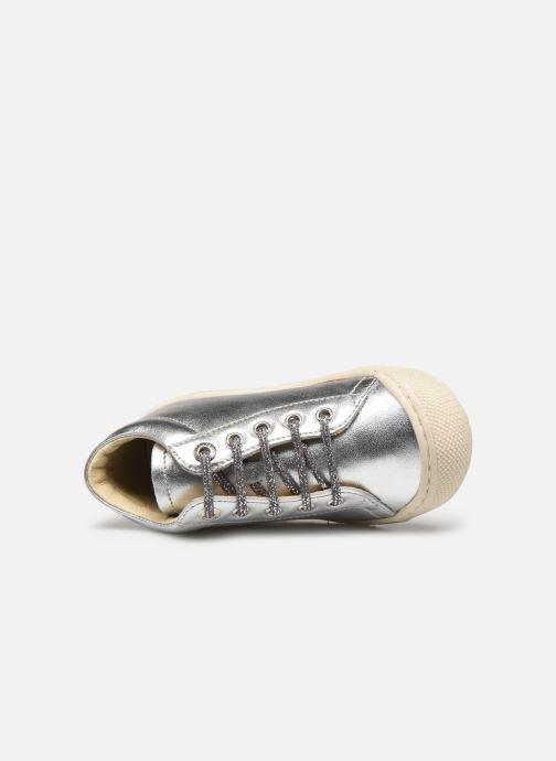 Chaussures à lacets Naturino Cocoon Argent vue gauche