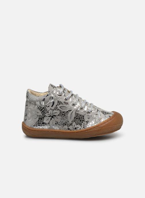 Zapatos con cordones Naturino Cocoon Plateado vistra trasera