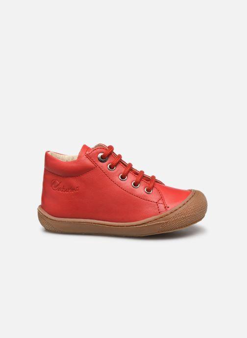 Chaussures à lacets Naturino Cocoon Rouge vue derrière