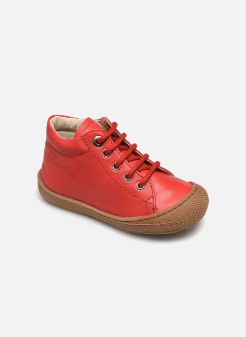 Chaussures à lacets Naturino Cocoon Rouge vue détail/paire