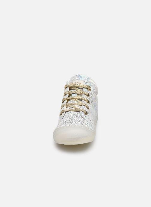 Chaussures à lacets Naturino Cocoon Argent vue portées chaussures
