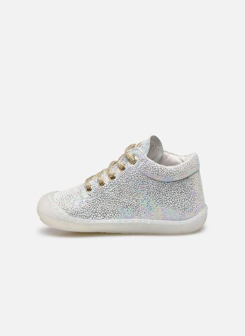 Chaussures à lacets Naturino Cocoon Argent vue face