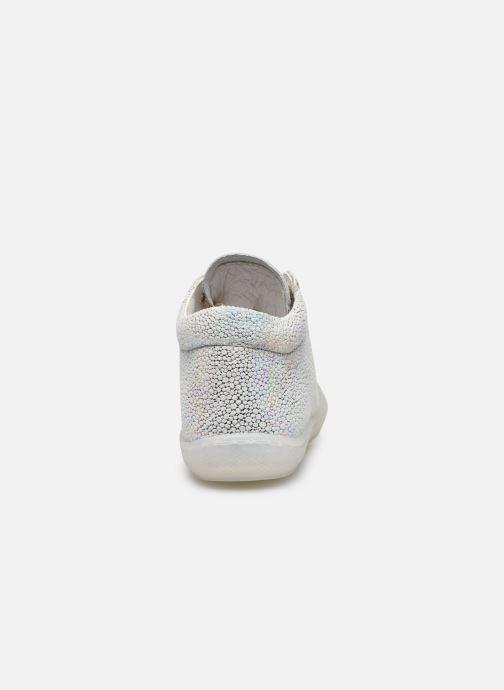 Chaussures à lacets Naturino Cocoon Argent vue droite