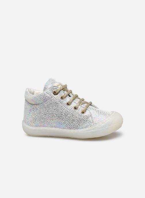 Chaussures à lacets Naturino Cocoon Argent vue derrière