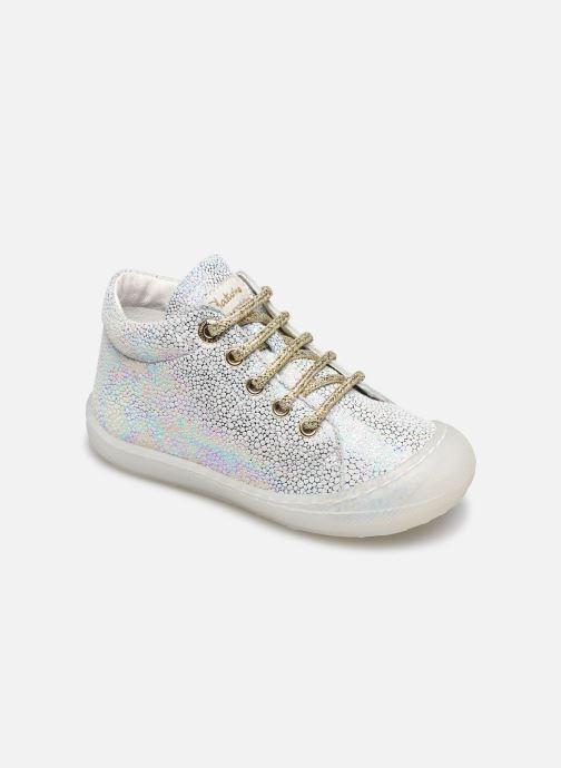 Chaussures à lacets Naturino Cocoon Argent vue détail/paire