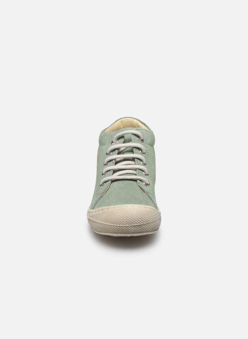 Zapatos con cordones Naturino Cocoon Verde vista del modelo