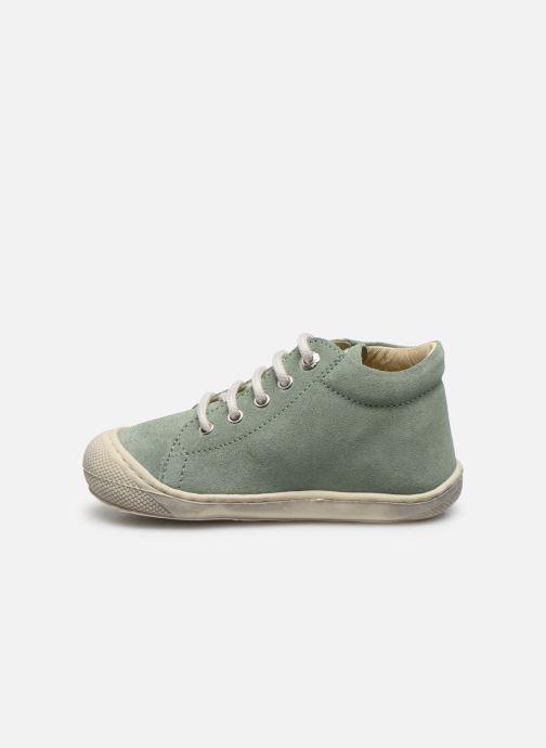 Zapatos con cordones Naturino Cocoon Verde vista de frente