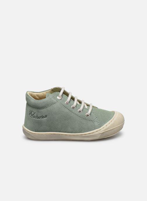 Zapatos con cordones Naturino Cocoon Verde vistra trasera