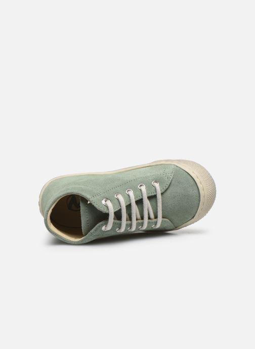 Zapatos con cordones Naturino Cocoon Verde vista lateral izquierda