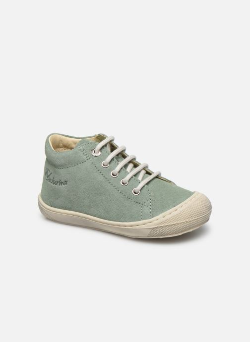 Zapatos con cordones Naturino Cocoon Verde vista de detalle / par