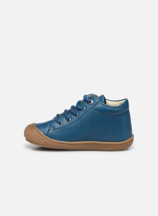 Chaussures à lacets Naturino Cocoon Bleu vue face