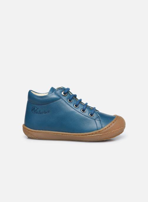 Chaussures à lacets Naturino Cocoon Bleu vue derrière