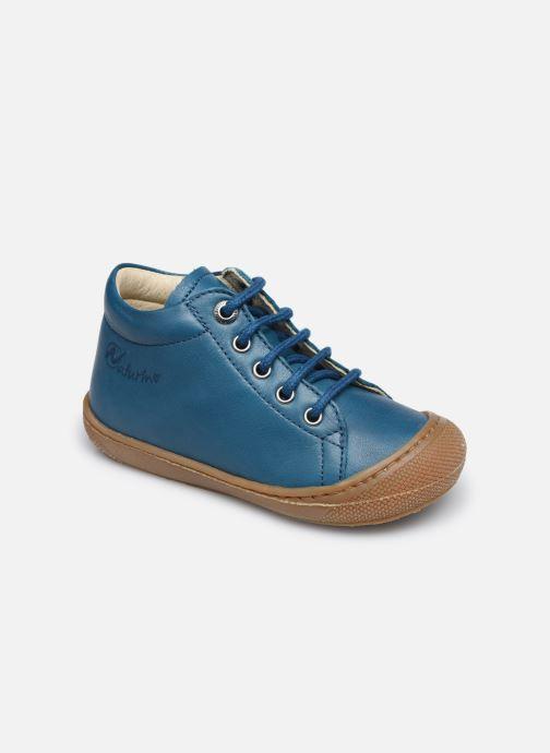 Zapatos con cordones Naturino Cocoon Azul vista de detalle / par