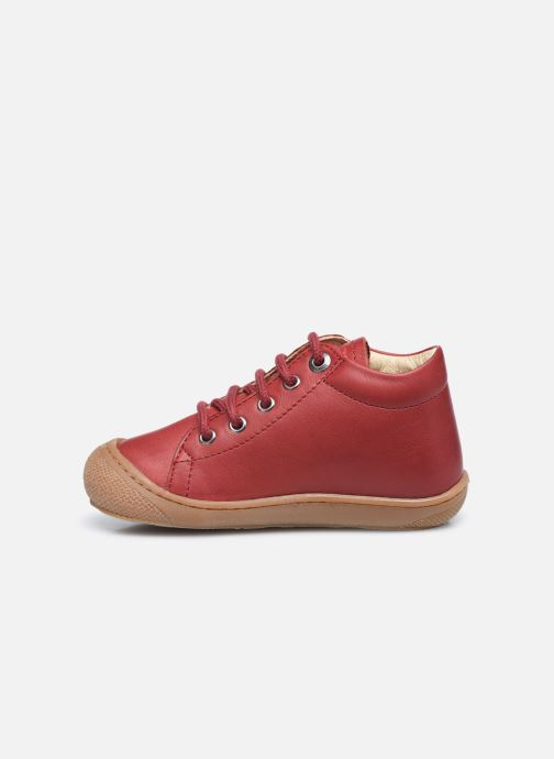 Chaussures à lacets Naturino Cocoon Rouge vue face