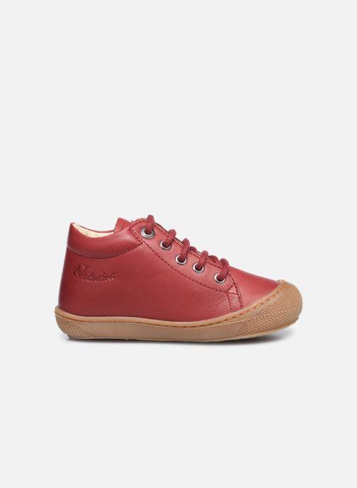 Zapatos con cordones Naturino Cocoon Rojo vistra trasera