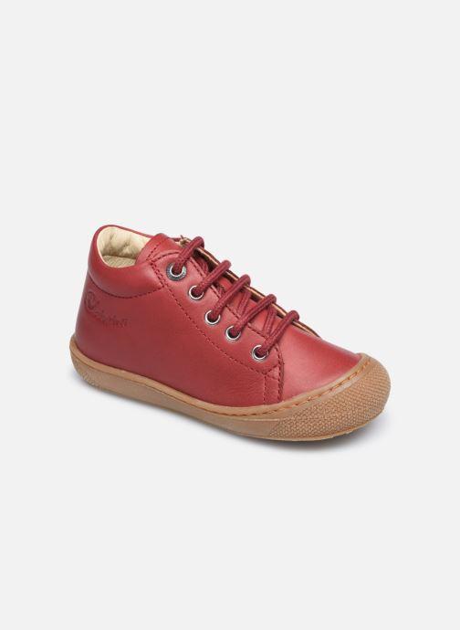 Zapatos con cordones Naturino Cocoon Rojo vista de detalle / par