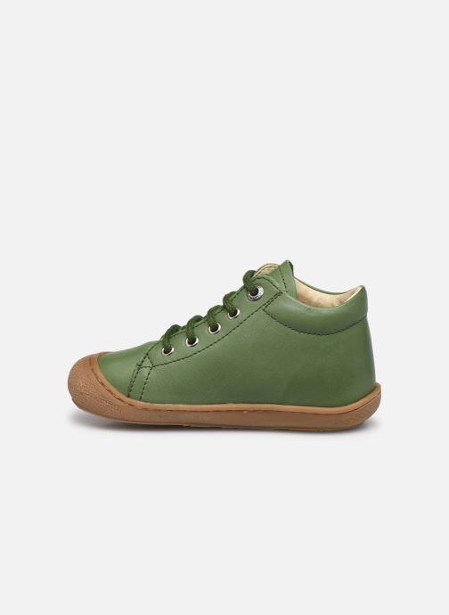 Chaussures à lacets Naturino Cocoon Vert vue face