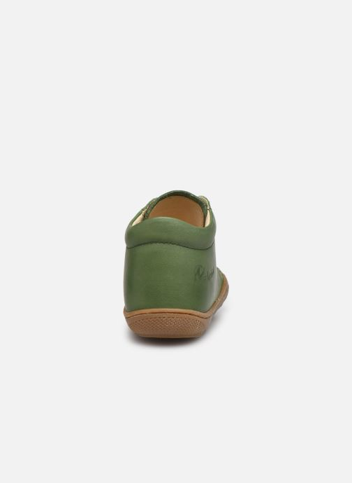 Chaussures à lacets Naturino Cocoon Vert vue droite