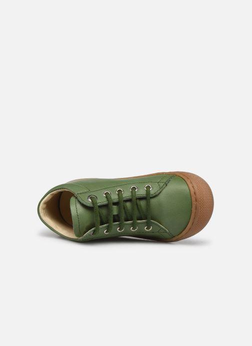 Chaussures à lacets Naturino Cocoon Vert vue gauche
