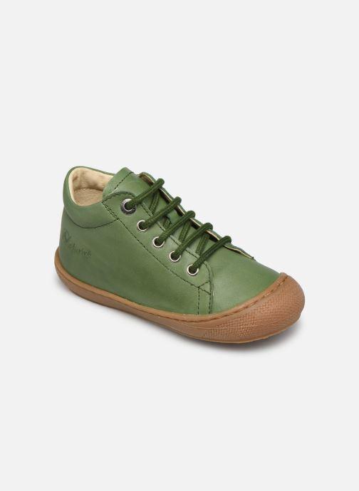 Chaussures à lacets Naturino Cocoon Vert vue détail/paire