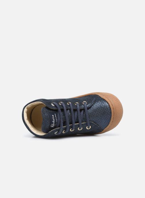 Scarpe con lacci Naturino Cocoon Azzurro immagine sinistra