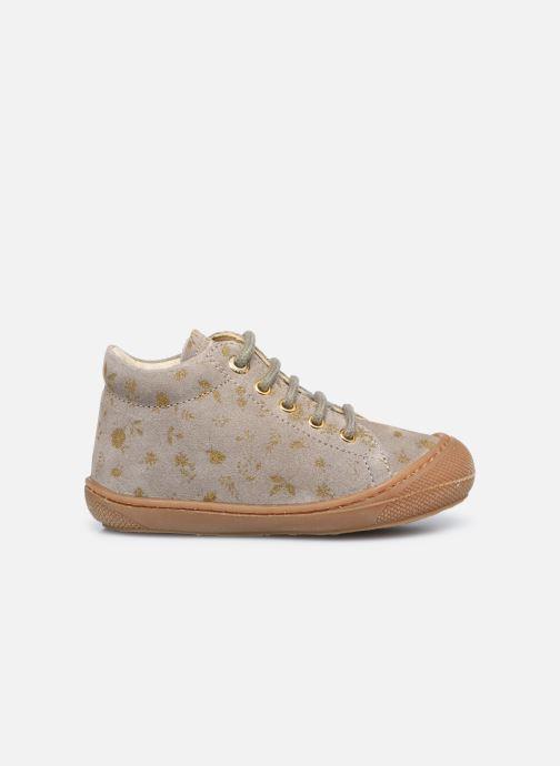 Chaussures à lacets Naturino Cocoon Or et bronze vue derrière