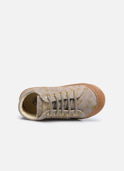 Chaussures à lacets Naturino Cocoon Or et bronze vue gauche
