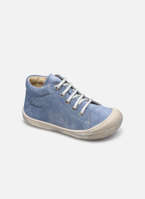 Chaussures à lacets Naturino Cocoon Bleu vue détail/paire