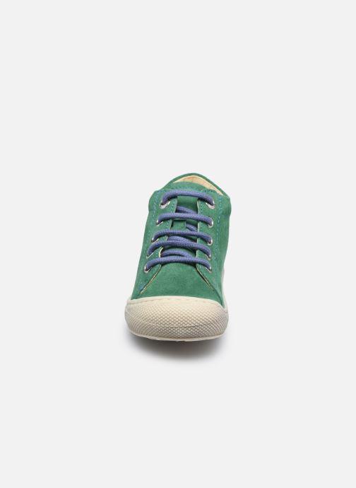 Chaussures à lacets Naturino Cocoon Vert vue portées chaussures