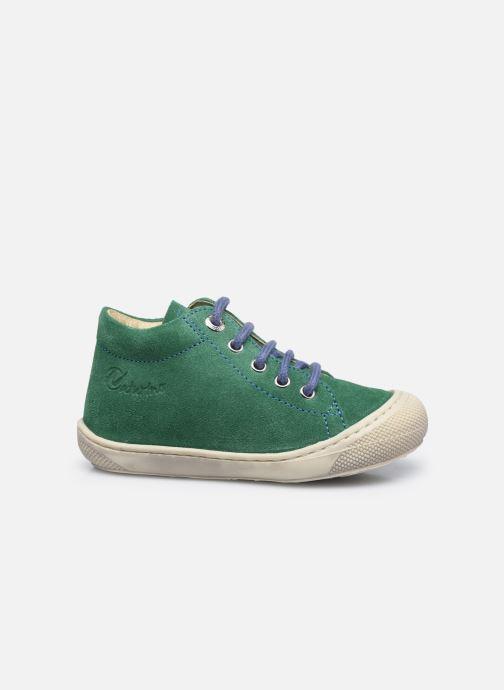 Chaussures à lacets Naturino Cocoon Vert vue derrière