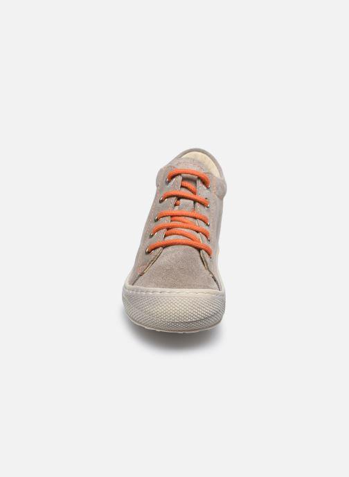 Chaussures à lacets Naturino Cocoon Beige vue portées chaussures