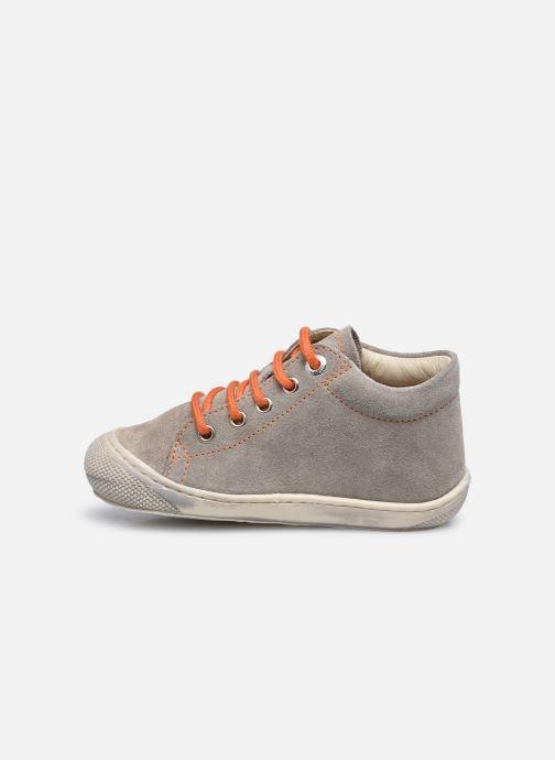 Chaussures à lacets Naturino Cocoon Beige vue face