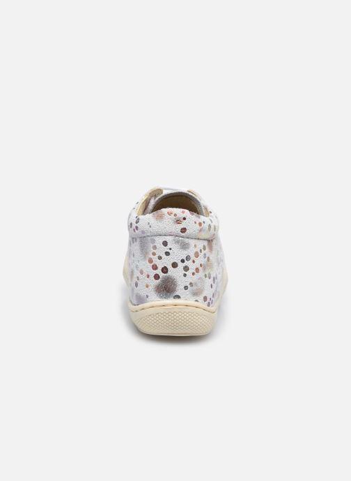 Chaussures à lacets Naturino Cocoon Blanc vue droite