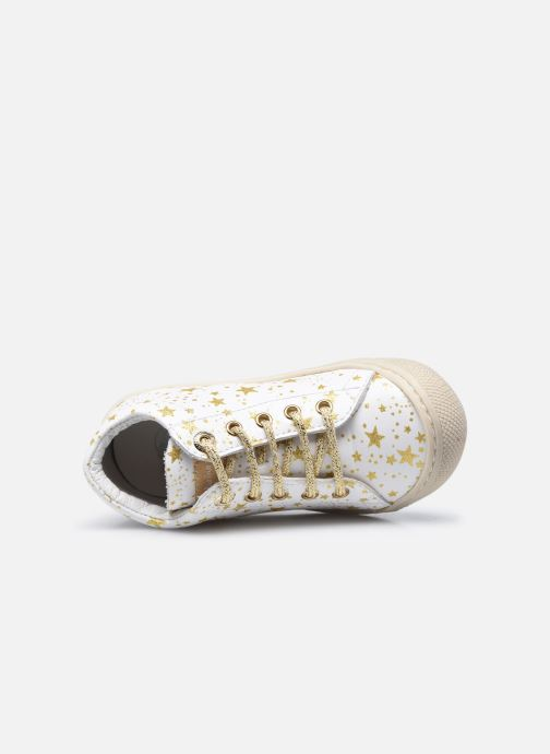 Chaussures à lacets Naturino Cocoon Blanc vue gauche