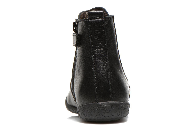 Bottines et boots Naturino Adelina 4043 Noir vue droite