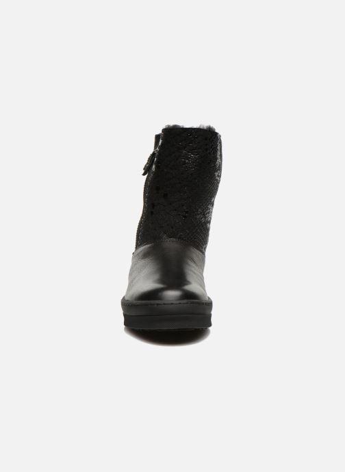 Stiefel Unisa Caterina schwarz schuhe getragen