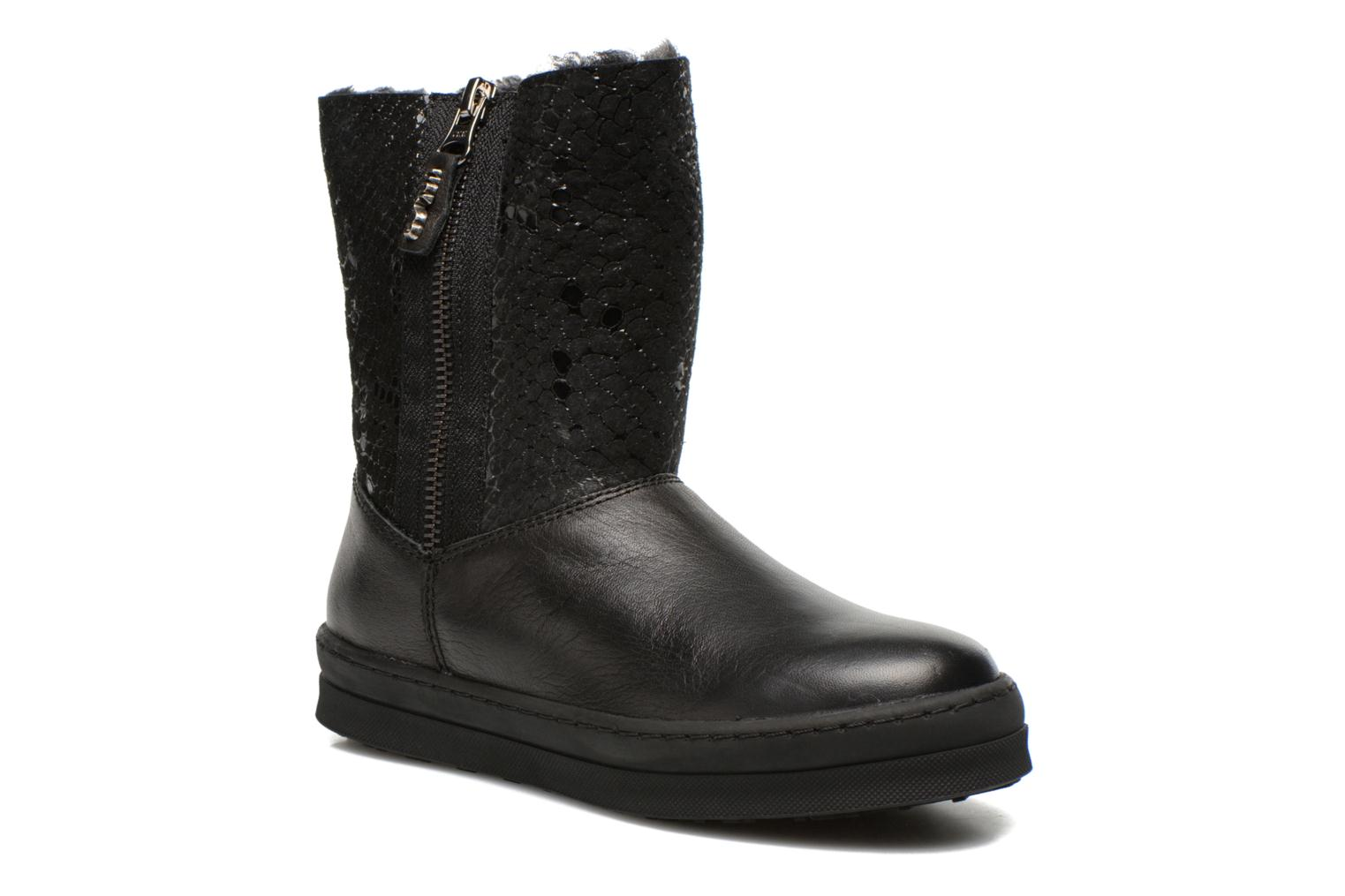 Boots & wellies Unisa Caterina Black detailed view/ Pair view