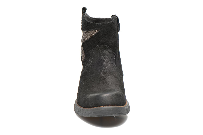 Bottines et boots Unisa Waylon Noir vue portées chaussures