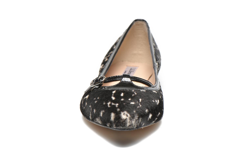 Ballerines L.K. Bennett Holly Noir vue portées chaussures