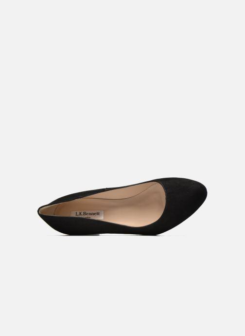Zapatos de tacón L.K. Bennett Sersha Negro vista lateral izquierda
