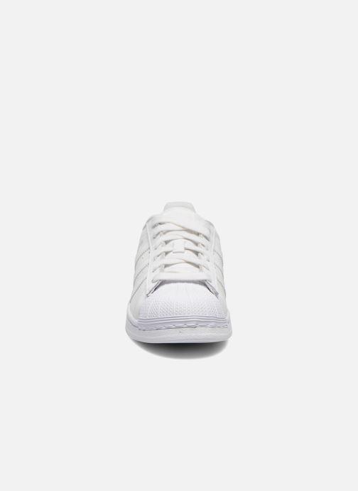 Deportivas adidas originals Superstar Foundation W Blanco vista del modelo