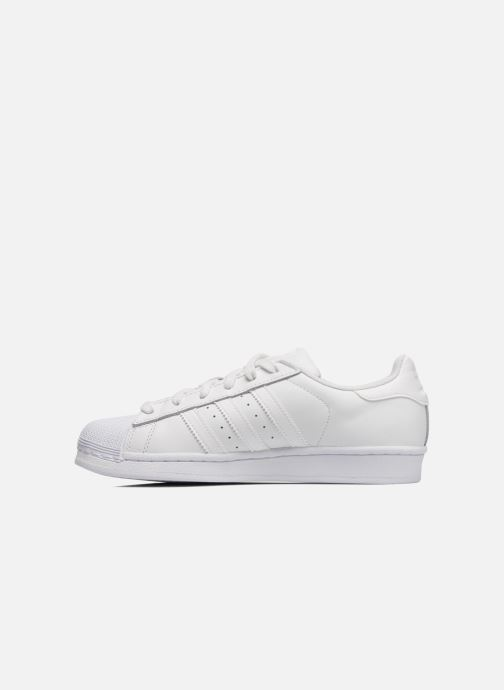 Deportivas adidas originals Superstar Foundation W Blanco vista de frente