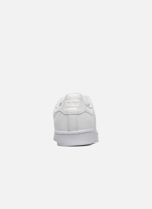 Deportivas adidas originals Superstar Foundation W Blanco vista lateral derecha