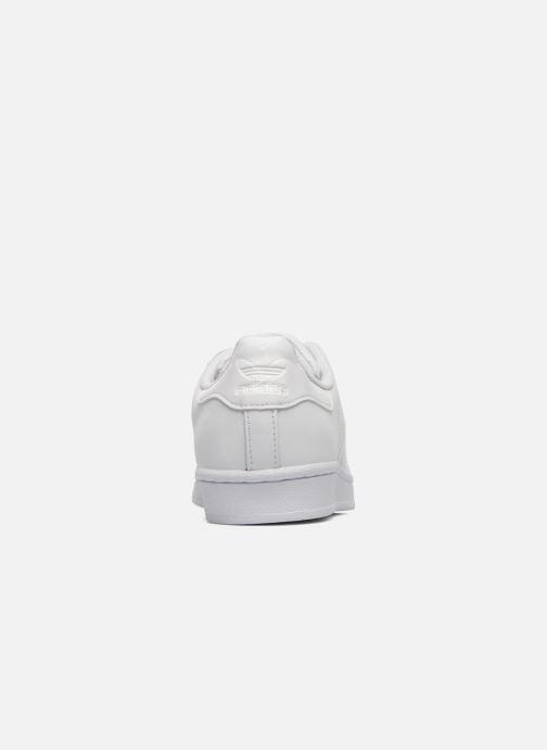 Sneaker Adidas Originals Superstar Foundation W weiß ansicht von rechts