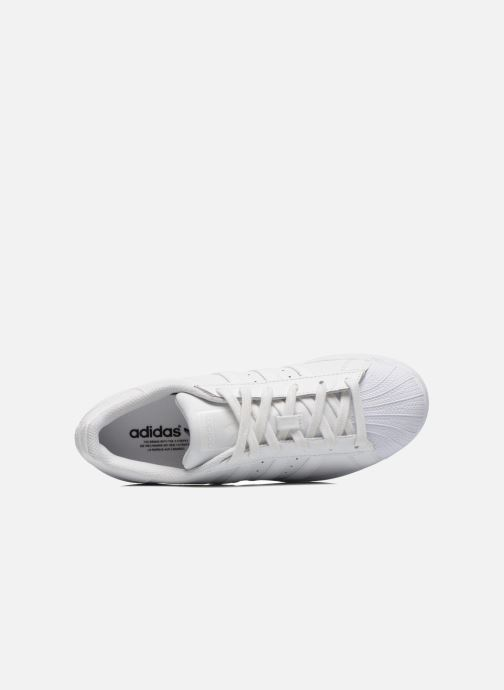 Deportivas adidas originals Superstar Foundation W Blanco vista lateral izquierda