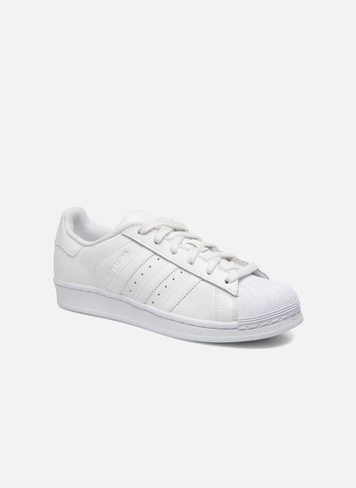 Sneakers adidas originals Superstar Foundation W Hvid detaljeret billede af skoene